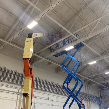 Roof Truss Fall Arrest System
