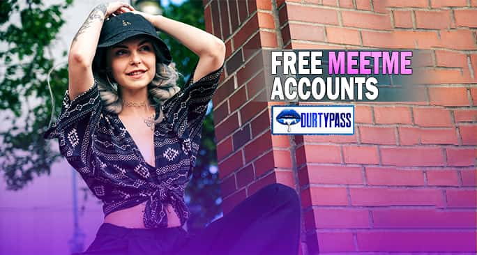 Meetme Passwords & Accounts Free 100% Working Meetme Logins