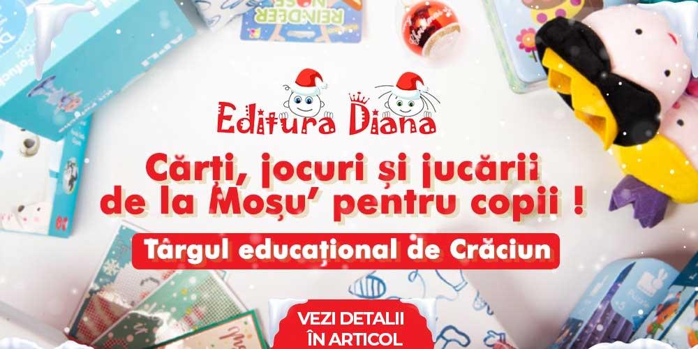 Târgul educațional de Crăciun - Editura Diana