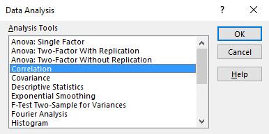 excel toolpak analysis menu
