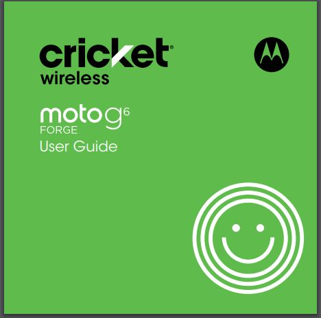 Motorola Moto G6 Forge User Manual / Guide – Download User