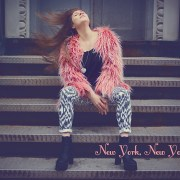 New York, New York: Pink Fur, Sexy Self-Portraits and Jeffrey Campbell Booties