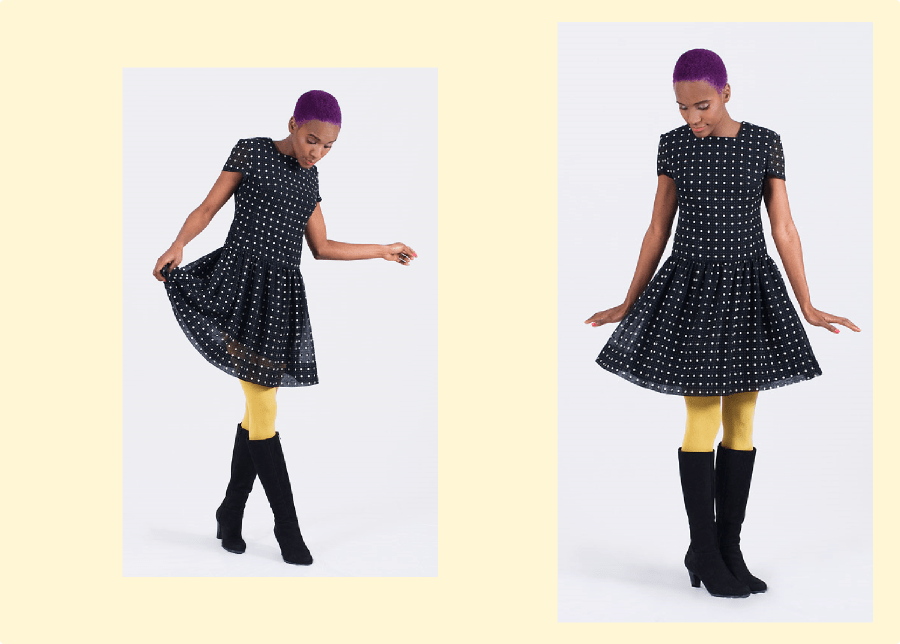 Color Therapy: Vintage Dress (Collaboration With FripeFabrique)