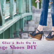Fringe Shoes DIY