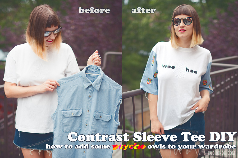 Contrast Sleeve DIY