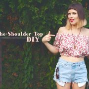 Off-The-Shoulder Top DIY