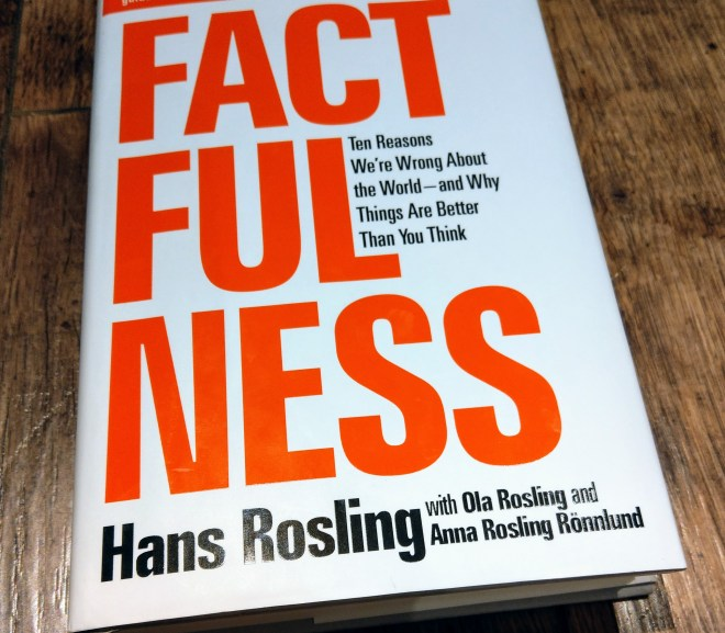 Factfullness. 資訊爆炸下的思考紀律