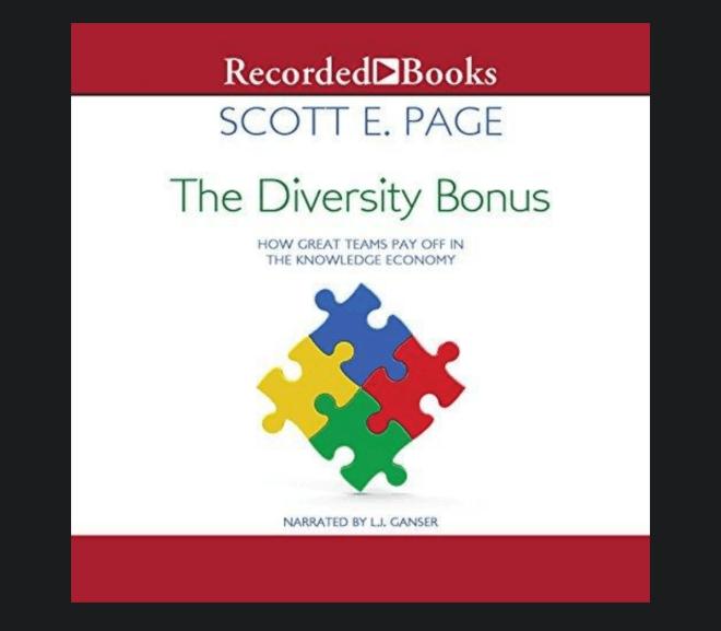 The Diversity Bonus  組織設計 vs. 樂團曲目