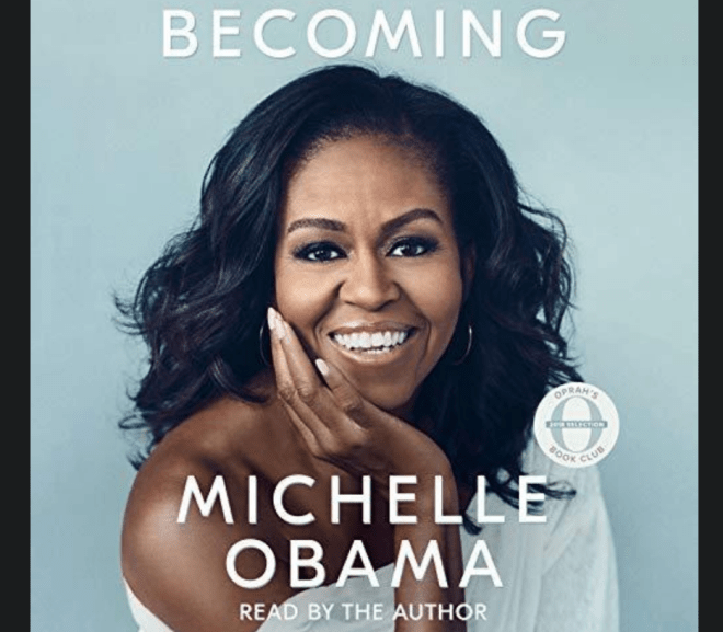 Becoming, by Michelle Obama 蜜雪兒歐巴馬的蛻變