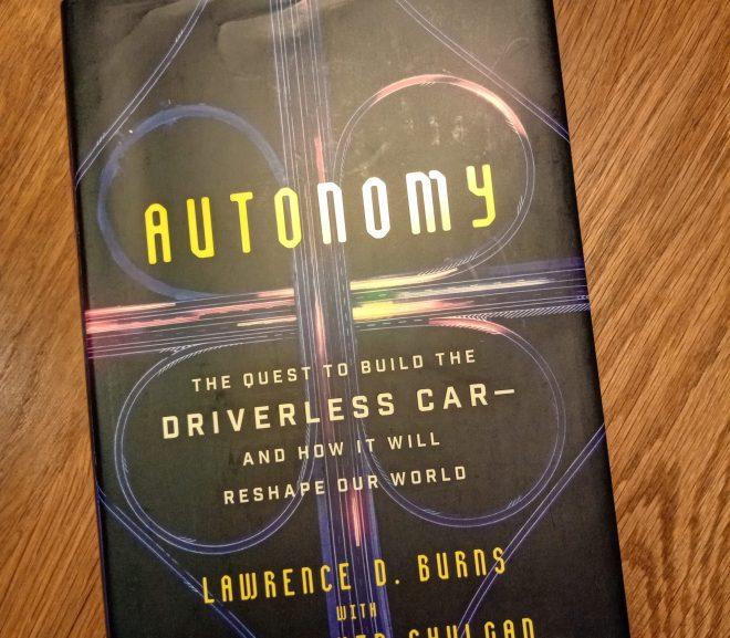 Autonomy 自動駕駛的未來