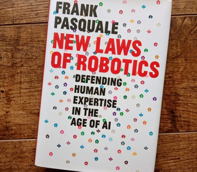 New Laws of Robotics 新機器定律
