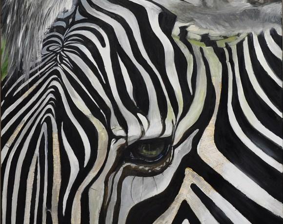 Dusildesign.com Painting Zebra