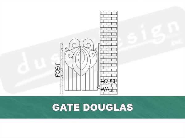 Blacksmithed Custom Gates