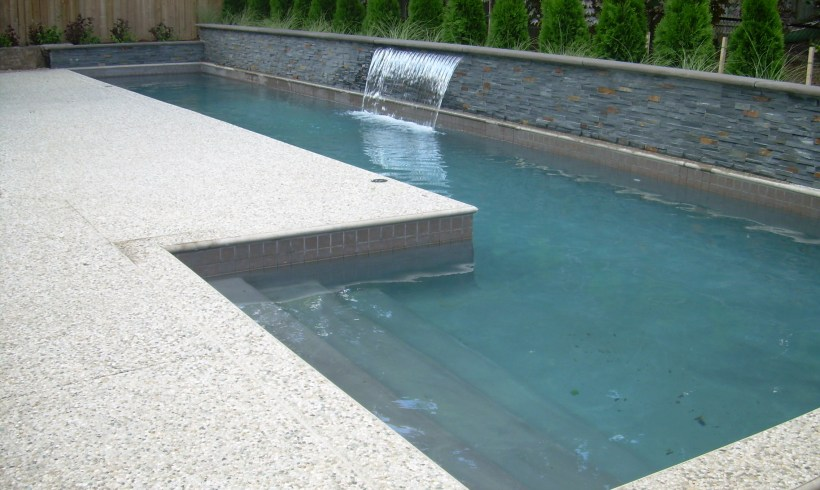 Custom Gunnite Lap Pool in Oakville