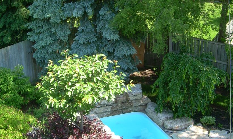 Kingsway Custom Tiny Pool and Grotto