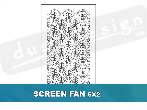 Screen Fan Pattern
