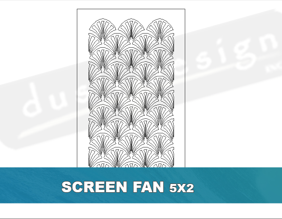 Screen Fan Pattern