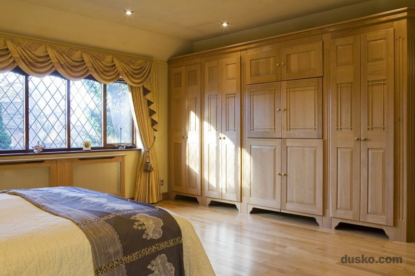 Arts and Crafts Bedroom in Davenham, Cheshire Radiator Cabinet