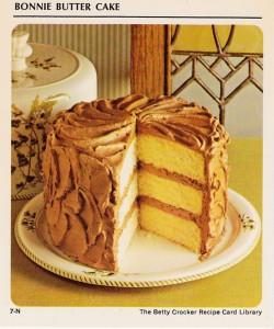 Bonnie Butter Cake Recipe