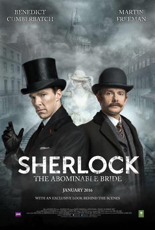 Sherlock-The Abominable Bride adlı yılbaşı özel bölümü ile teşrif etti.