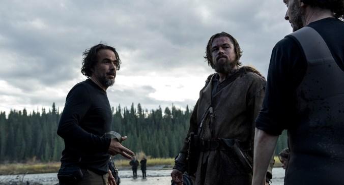 Alejandro G. Iñárritu, The revenant çekimlerinde iş başında...