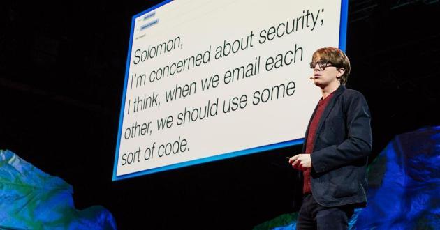 James Veitch hepimizin muzdarip olduğu scam e-posta konusunda keyifli bir konuşma yapmış.