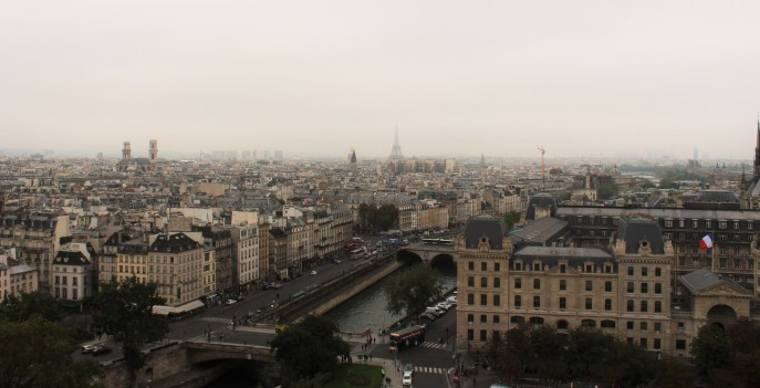 Notre Dame harika bir manzaraya sahip