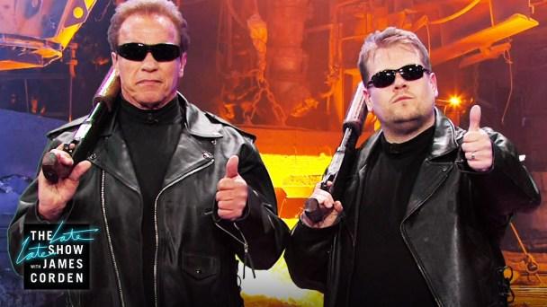 Arnold'dan gelsin: I will be back!
