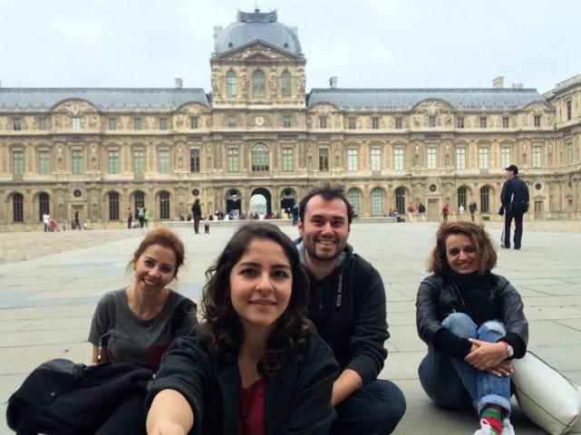 Louvre hatırası...