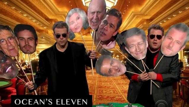 Matt Damon ve Ocean'ın ekibi göreve hazır...