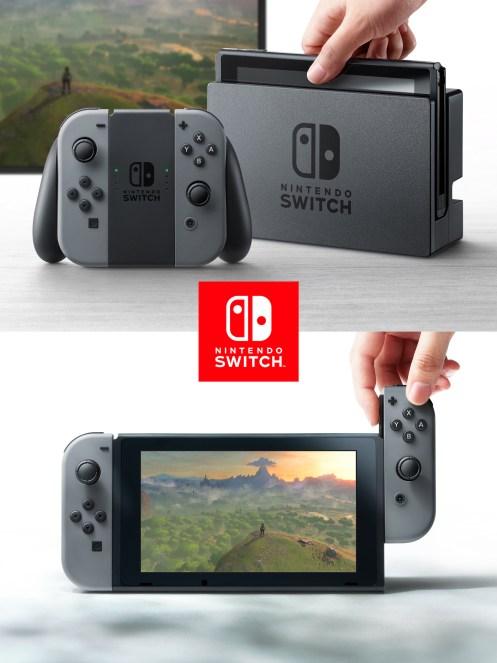 Nintendo Switch farklı bir oyun deneyimi vaadediyor.