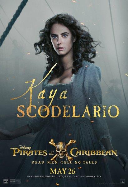 Kaya Scodelario Pirates of the Caribbean Dead Men Tell No Tales