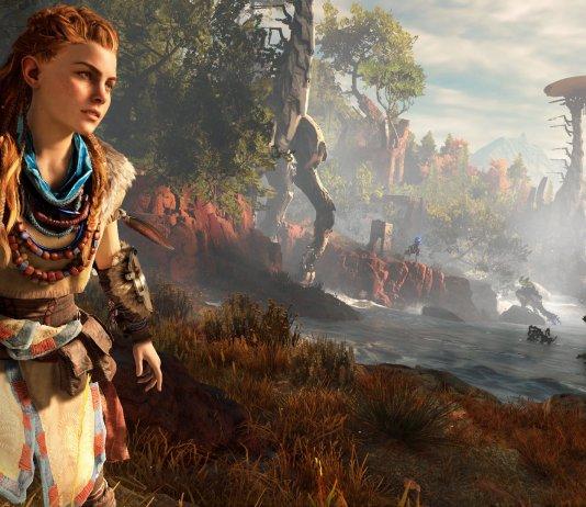 Horizon Zero Dawn - Oyunda Aloy isimli genç bir kızı canlandırıyoruz. İnsanlığın henüz bilemediğimiz bir nedenle yıkıma uğradığı bir gelecekteyiz. Sessizlik...