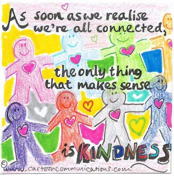 Hayat, insanlar birbirlerine yardım ettikçe paylaşılıyor.