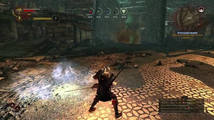 Witcher 2 oyun içi görüntü