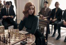 The Queen's Gambit - Bir maç sahnesi