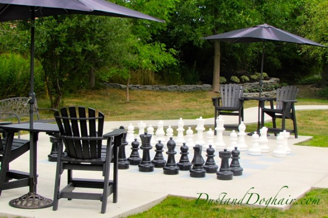 Outdoor Chess Garden