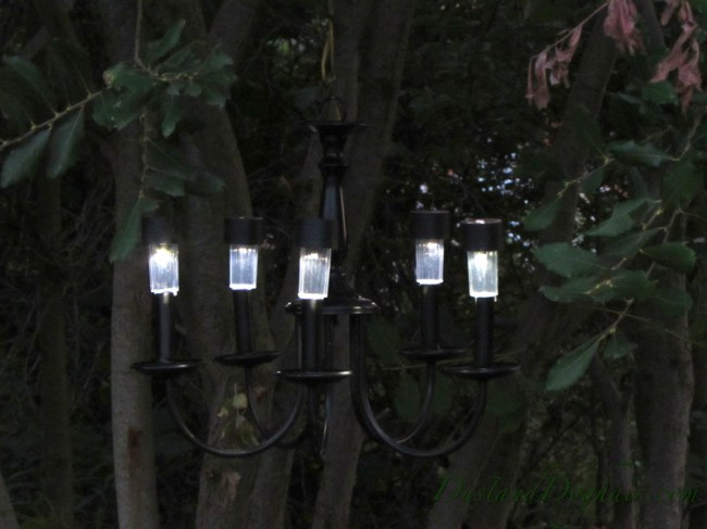 sm solar chandelier