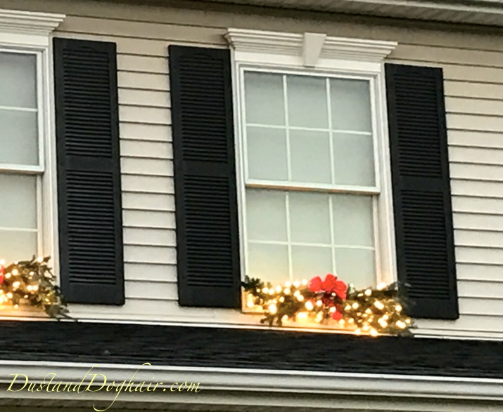 Outdoor Christmas Window Swags.Easy Diy Winter Swags From Tree Leftovers And Mr D D S