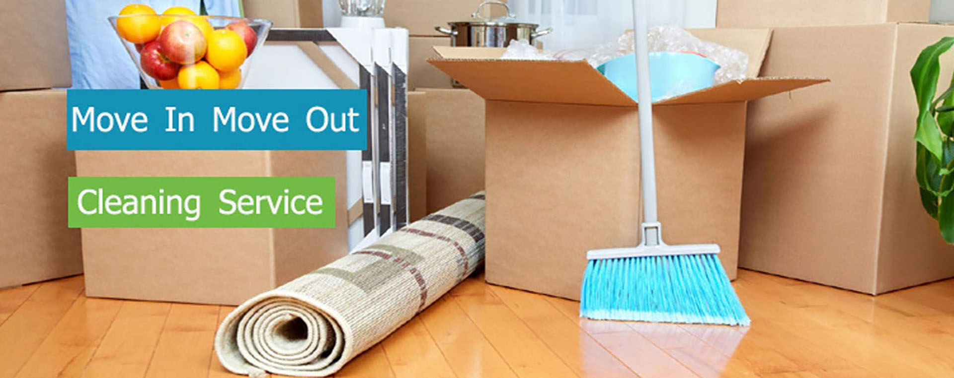 Move Out Cleaning – Dust & Spray