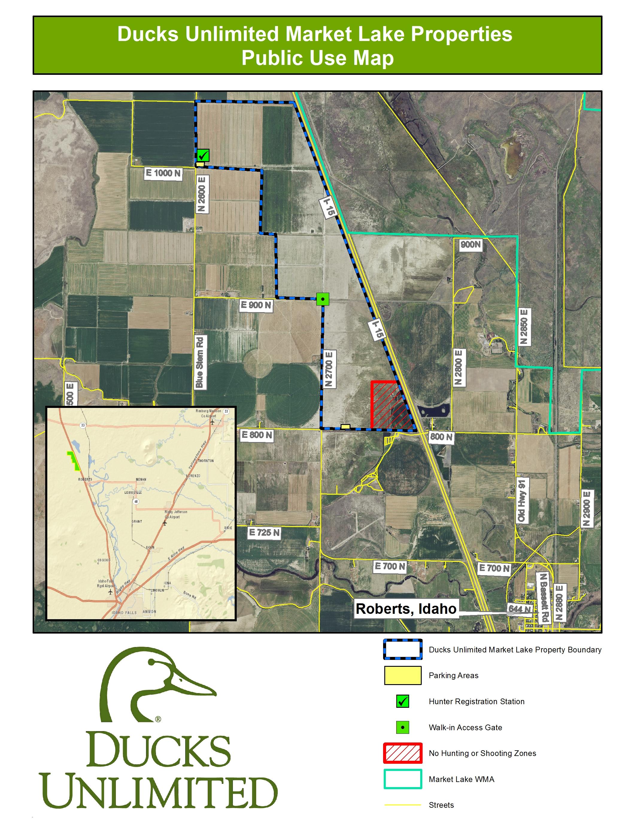 Mississippi Ducks Unlimited Migration Map