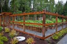Hog Panel Garden Fence Ideas