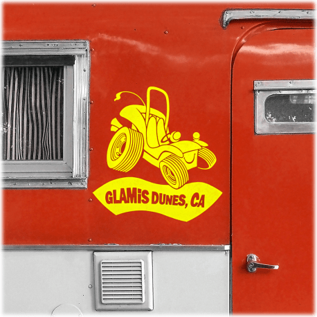 Glamis Dunes Decal