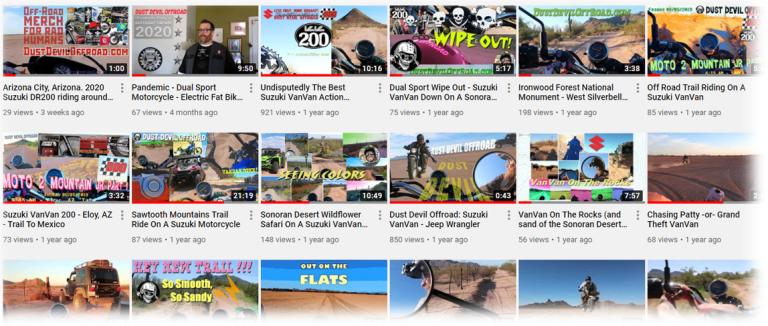 Dust Devil Offroad YouTube Channel
