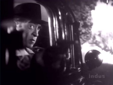 ...and Khanna shoots back, while driving