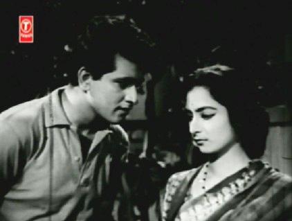 Manoj Kumar and Saira Banu in Shaadi