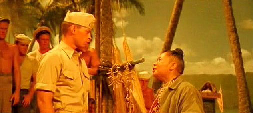 Bloody Mary sings to Cable of Bali Hai