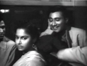 Dev Anand and Waheeda Rehman in Solvaan Saal
