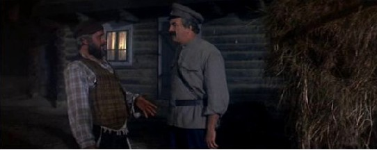 The constable warns Tevye of the pogrom