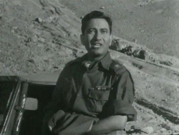 Major Pratap Singh departs for the front after his engagement